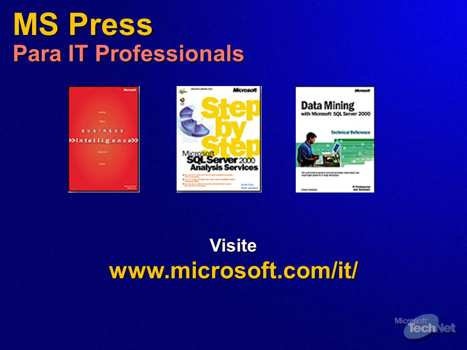 MS Press Para IT Professionals
