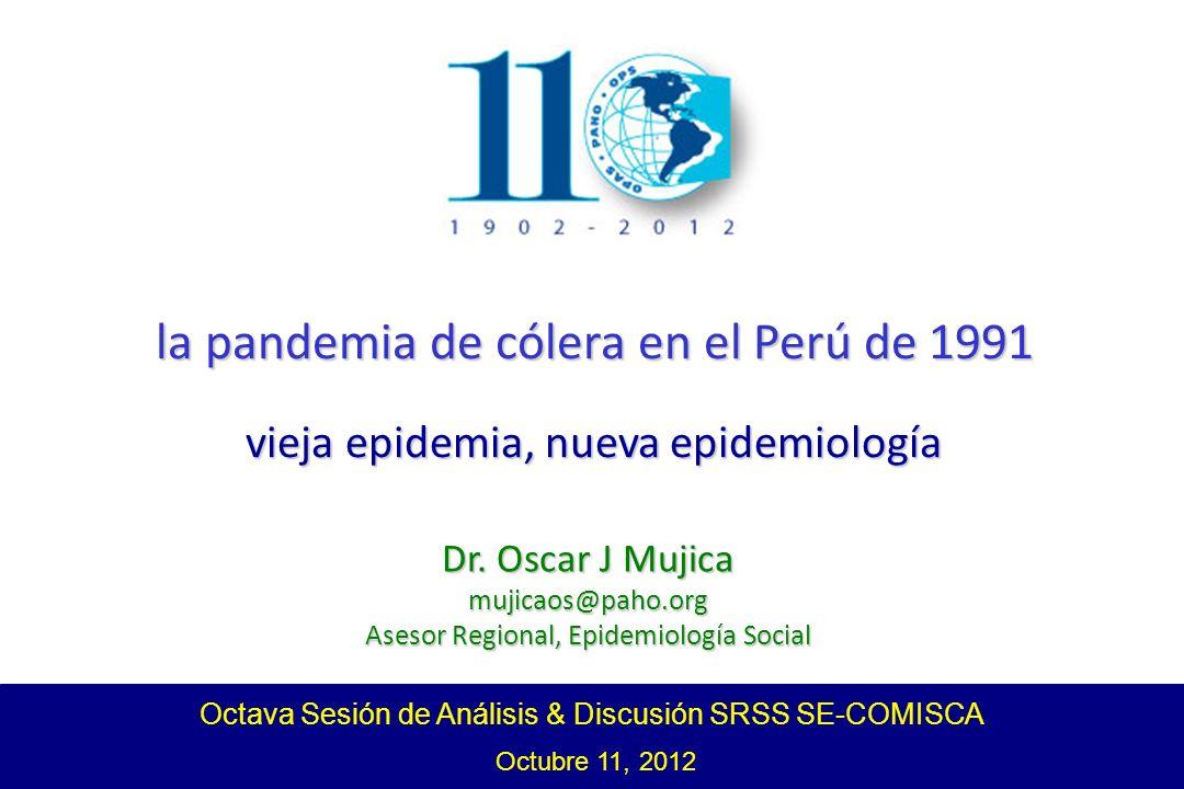 la pandemia de cólera en el Perú de 1991