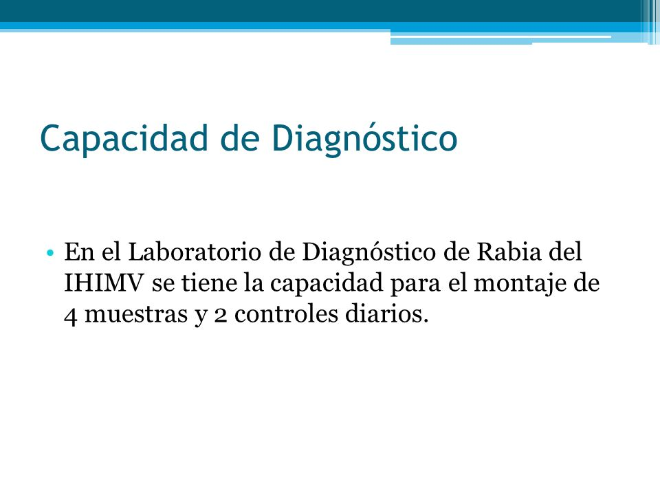 Capacidad de Diagnóstico