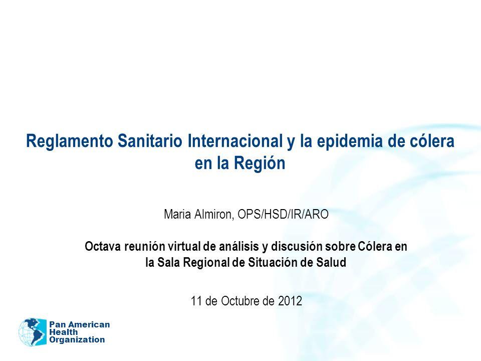 Maria Almiron, OPS/HSD/IR/ARO