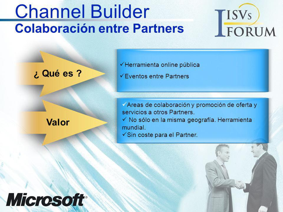 Channel Builder Colaboración entre Partners