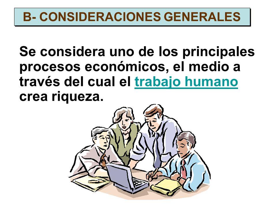 B- CONSIDERACIONES GENERALES