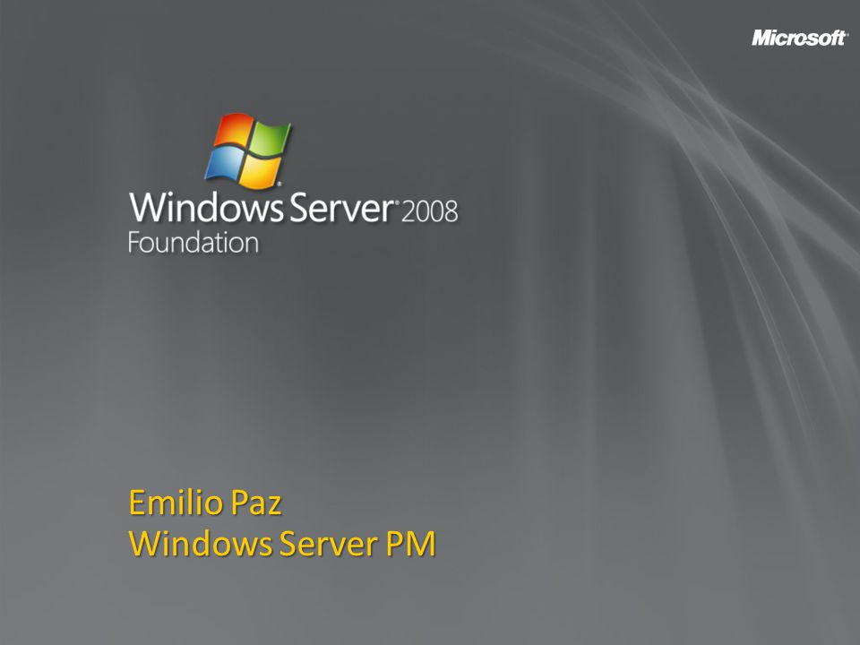 Emilio Paz Windows Server PM