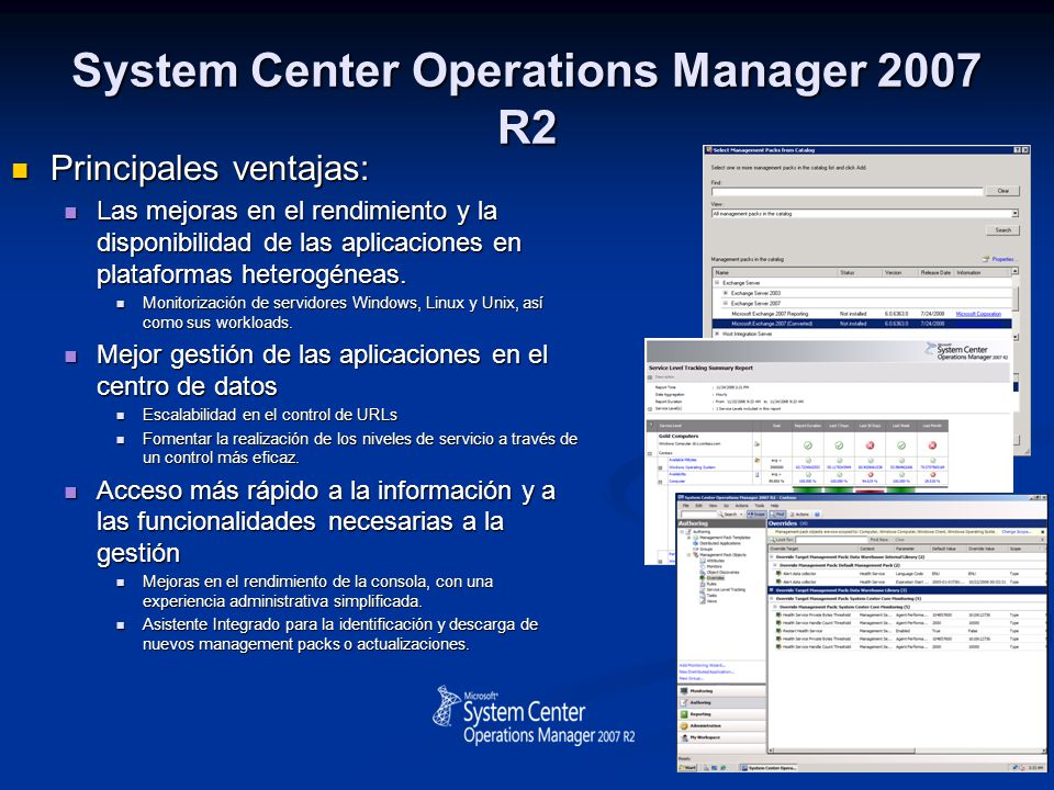 System Center Operations Manager 2007 R2