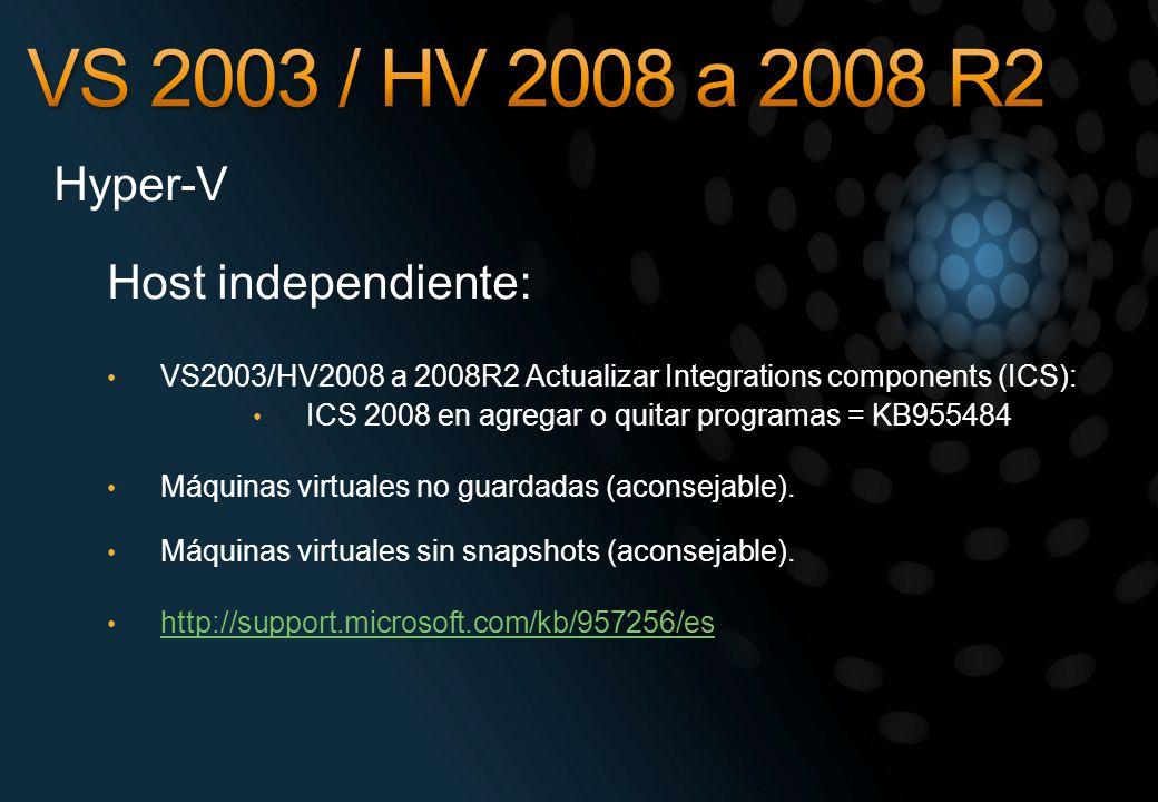 ICS 2008 en agregar o quitar programas = KB955484