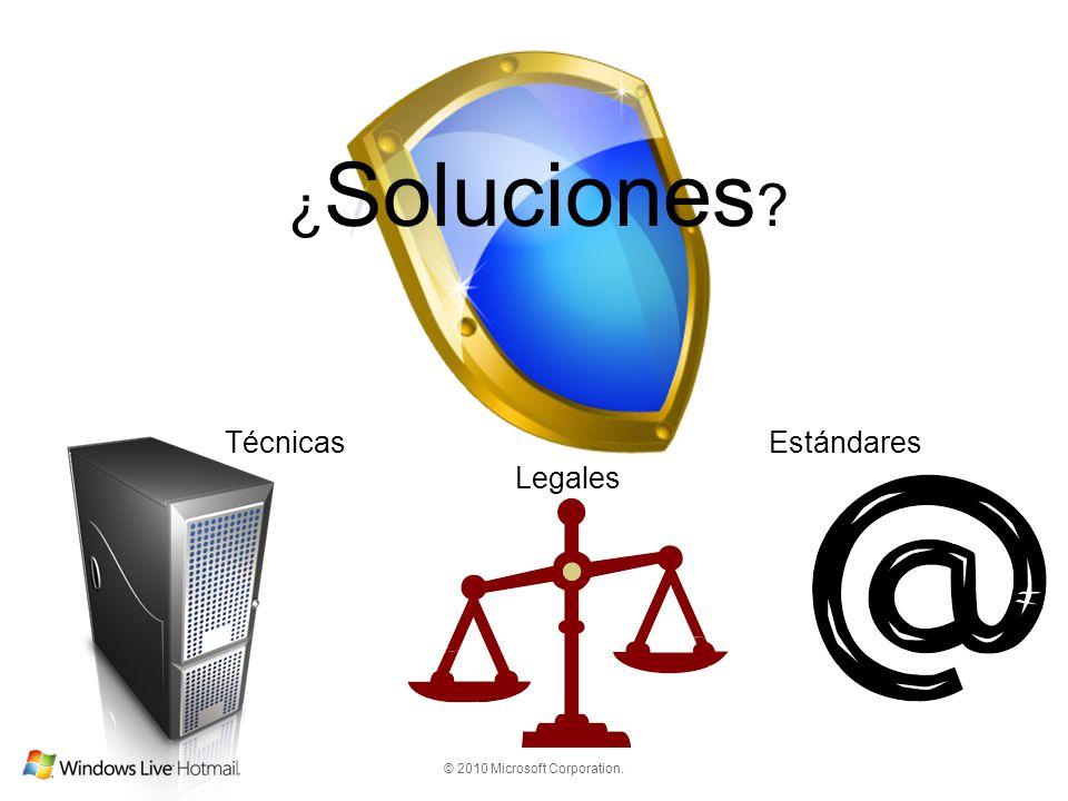 ¿Soluciones Técnicas Estándares Legales