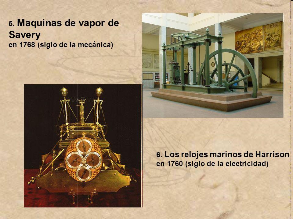 5. Maquinas de vapor de Savery