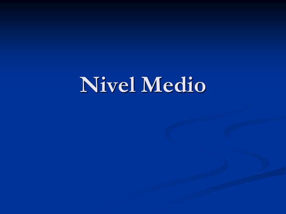 Nivel Medio