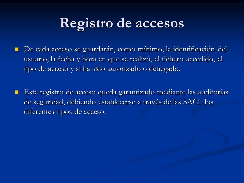 Registro de accesos