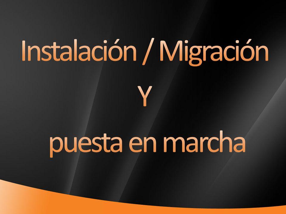 Instalación / Migración