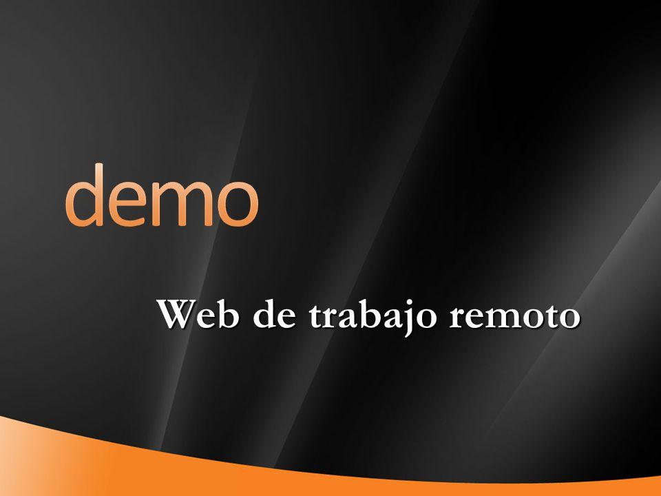 demo Web de trabajo remoto 4/1/2017