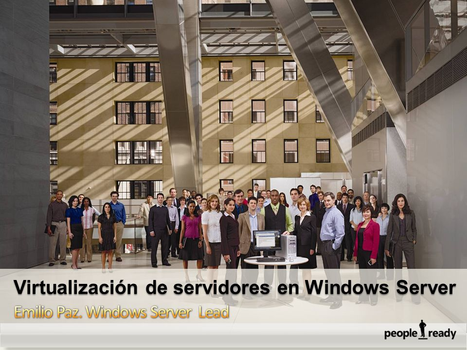 Virtualización de servidores en Windows Server
