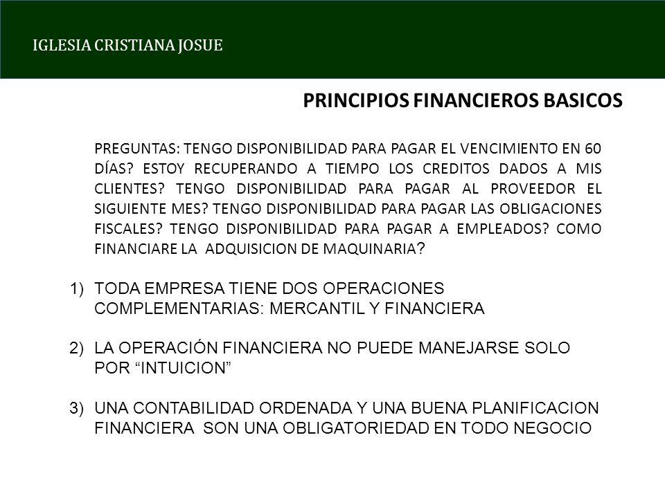 PRINCIPIOS FINANCIEROS BASICOS