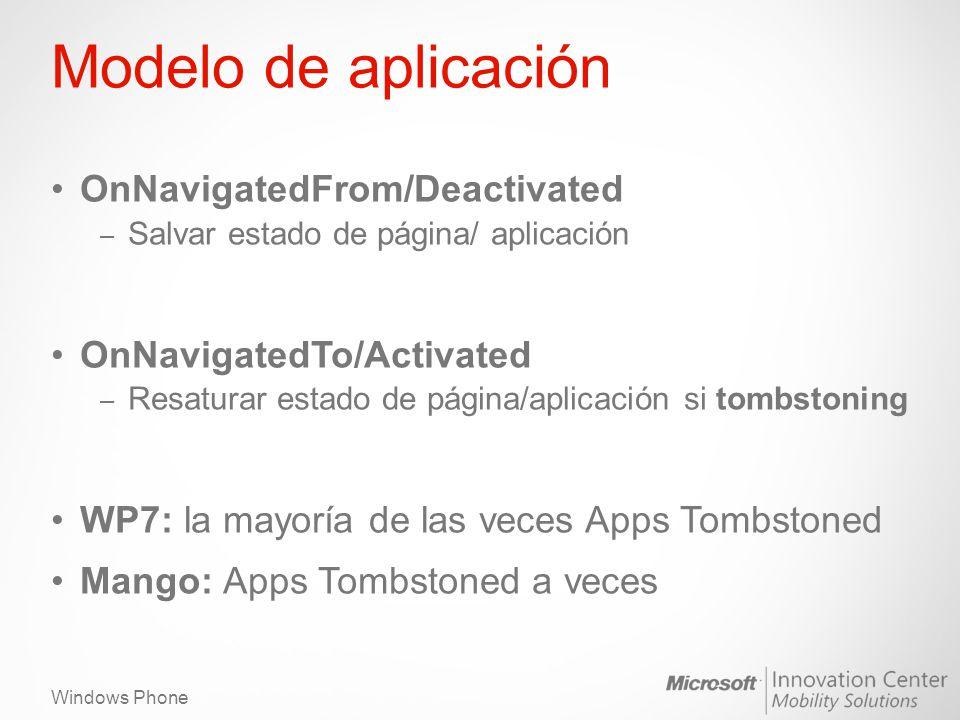Modelo de aplicación OnNavigatedFrom/Deactivated