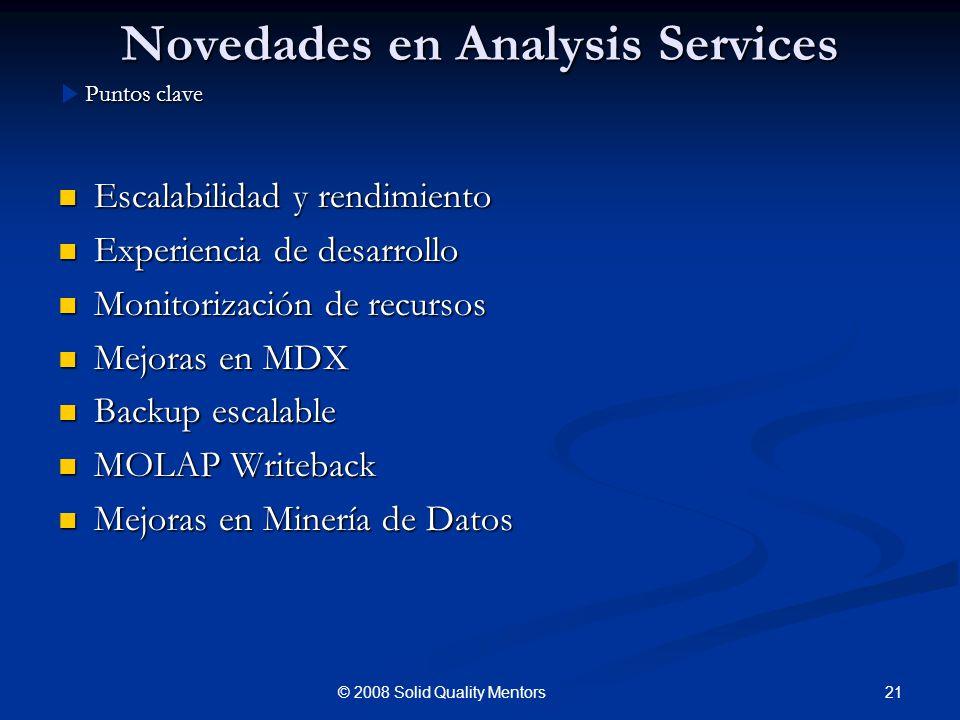 Novedades en Analysis Services