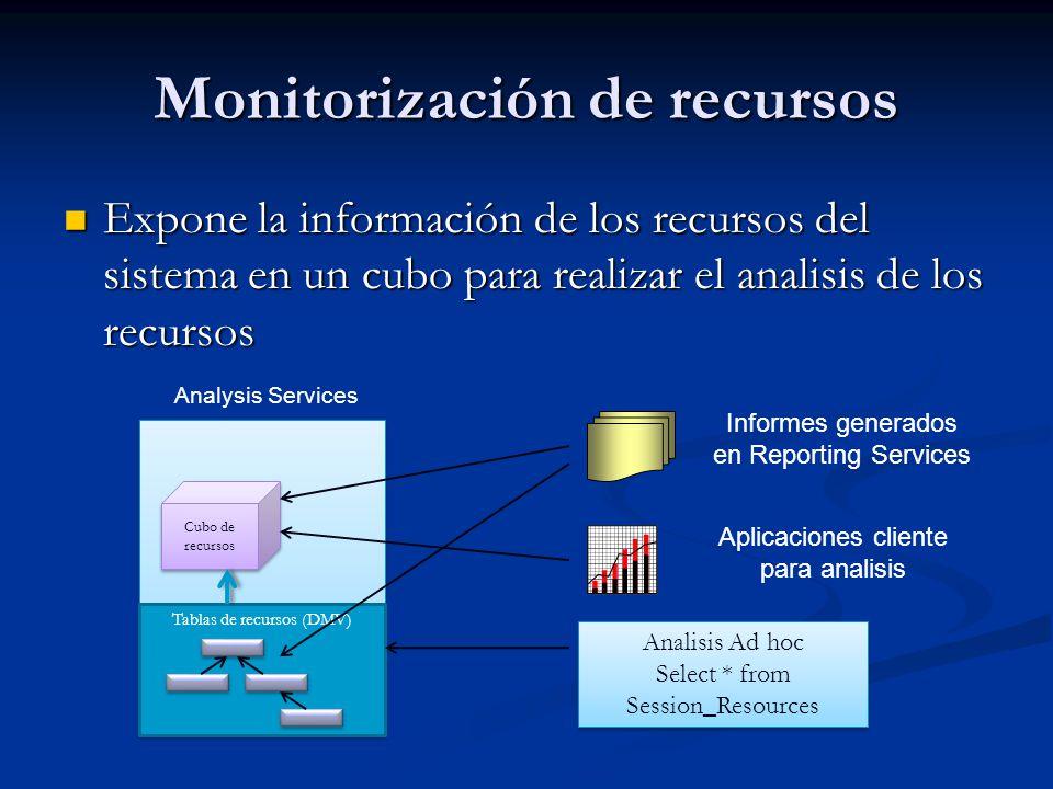 Monitorización de recursos