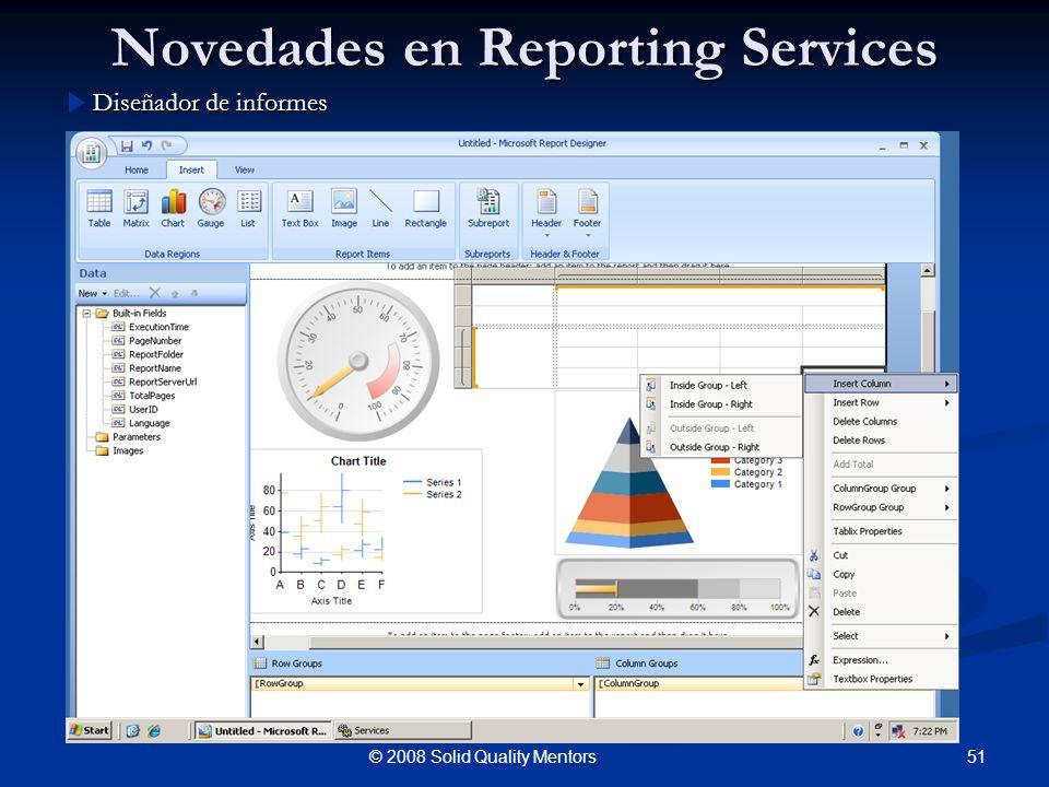 Novedades en Reporting Services