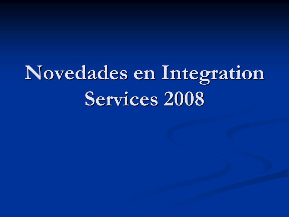 Novedades en Integration Services 2008