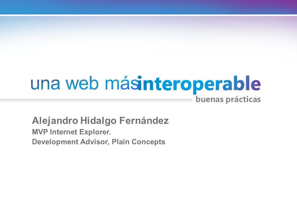 una web más Alejandro Hidalgo Fernández buenas prácticas