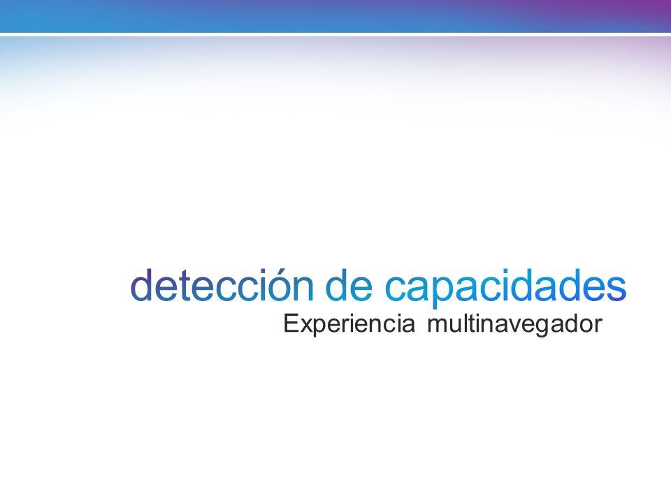 detección de capacidades