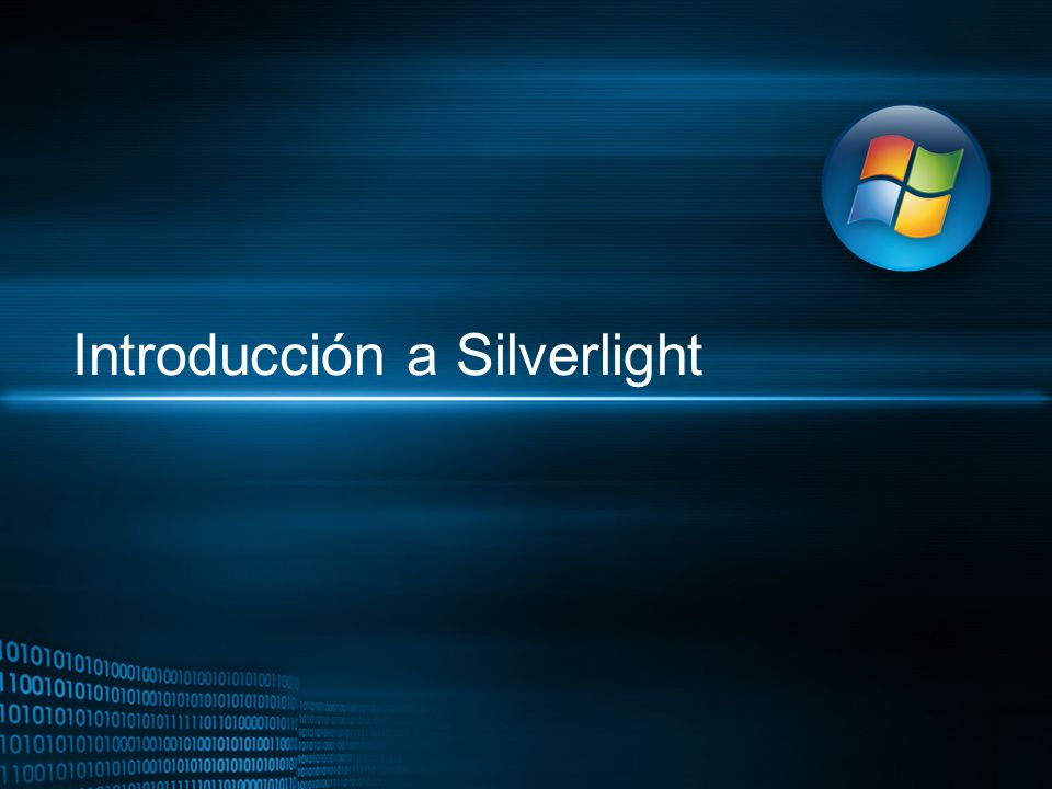 Introducción a Silverlight