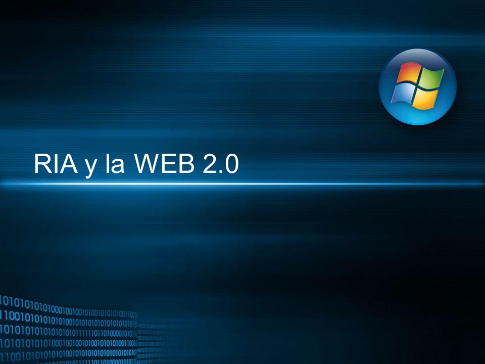 RIA y la WEB 2.0 3