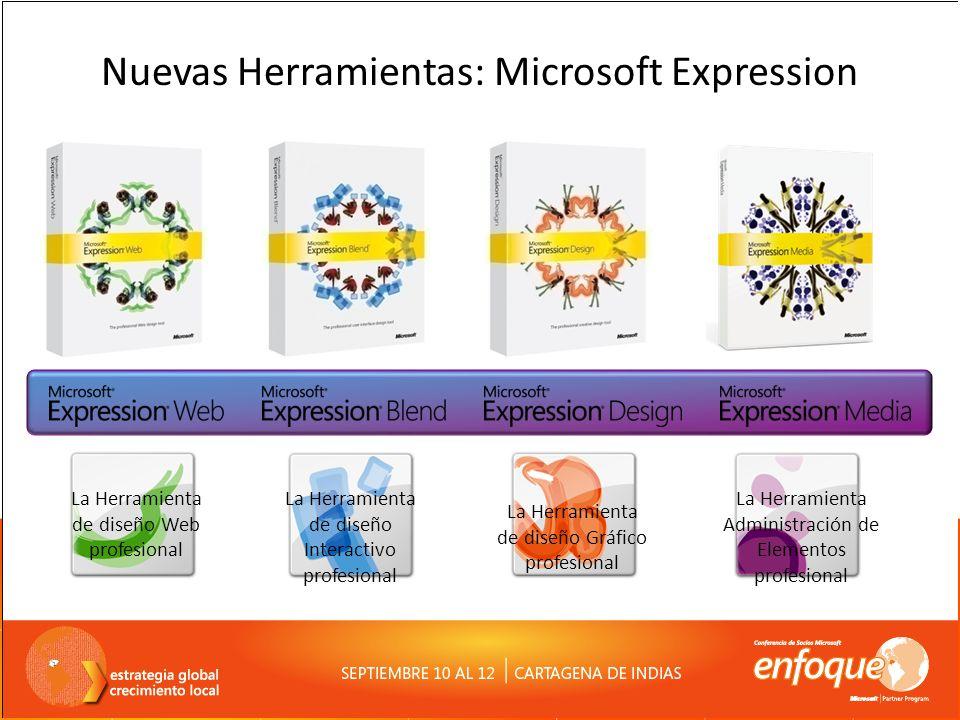 Nuevas Herramientas: Microsoft Expression