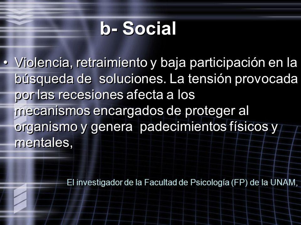 b- Social