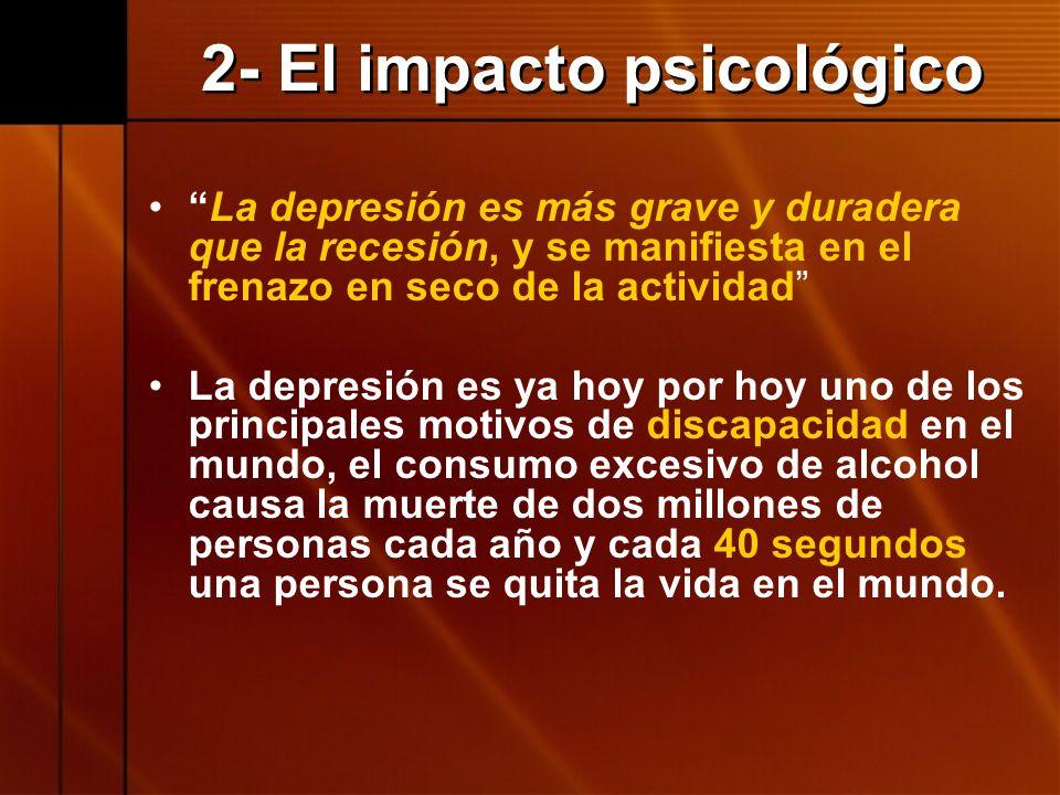 2- El impacto psicológico