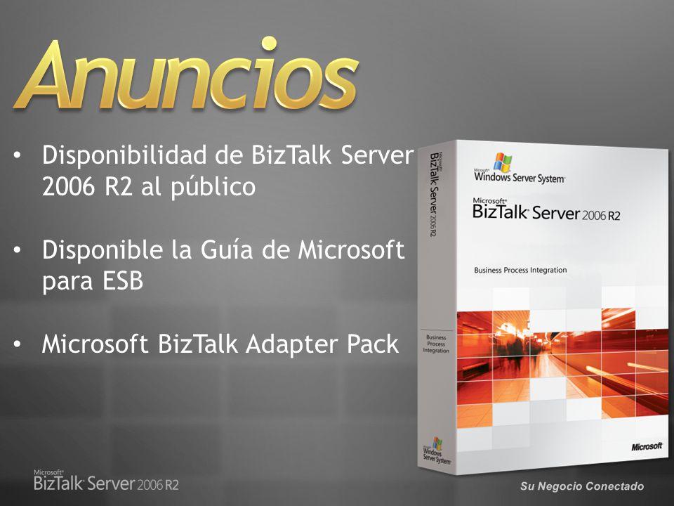 Anuncios Disponibilidad de BizTalk Server 2006 R2 al público