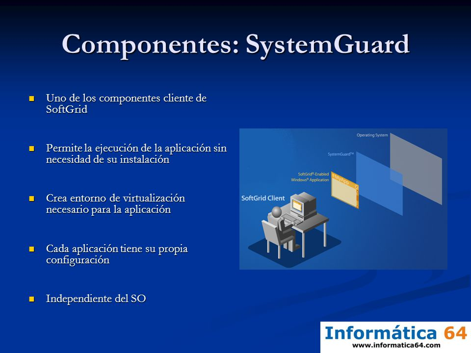 Componentes: SystemGuard