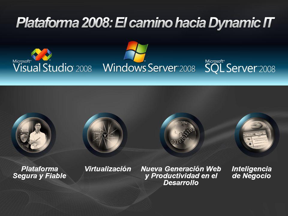 Plataforma 2008: El camino hacia Dynamic IT