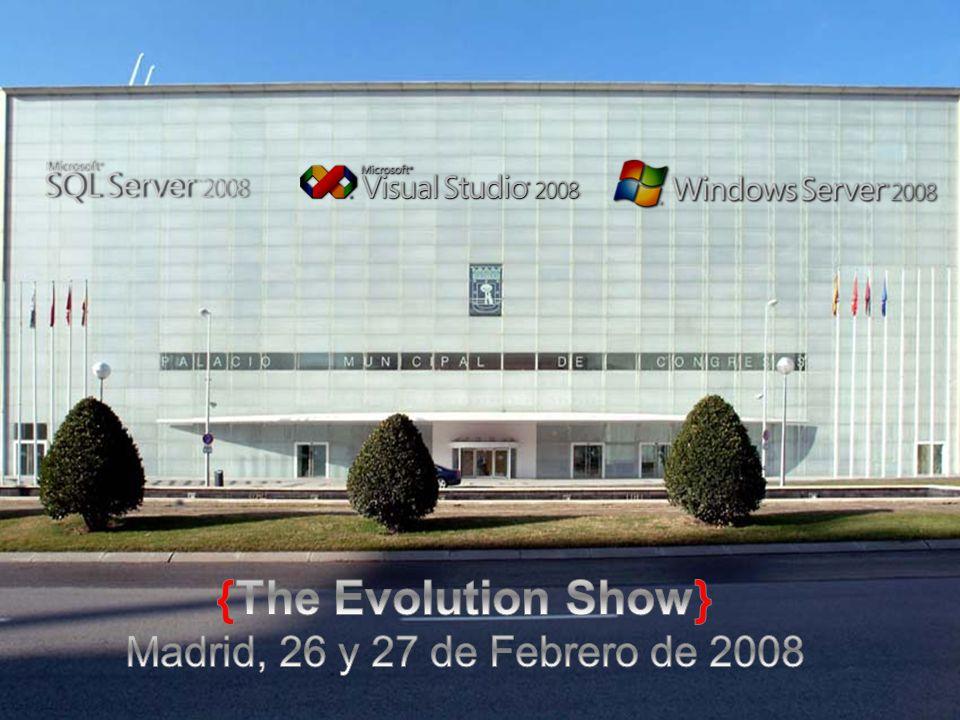 {The Evolution Show} Madrid, 26 y 27 de Febrero de 2008