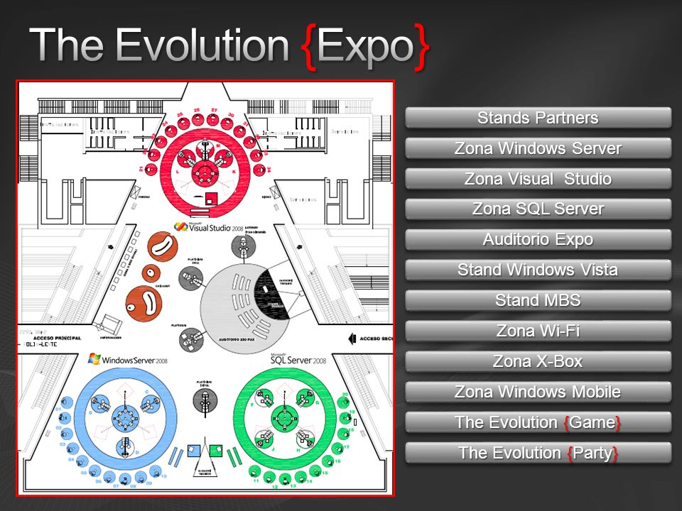 The Evolution {Expo} Stands Partners Zona Windows Server