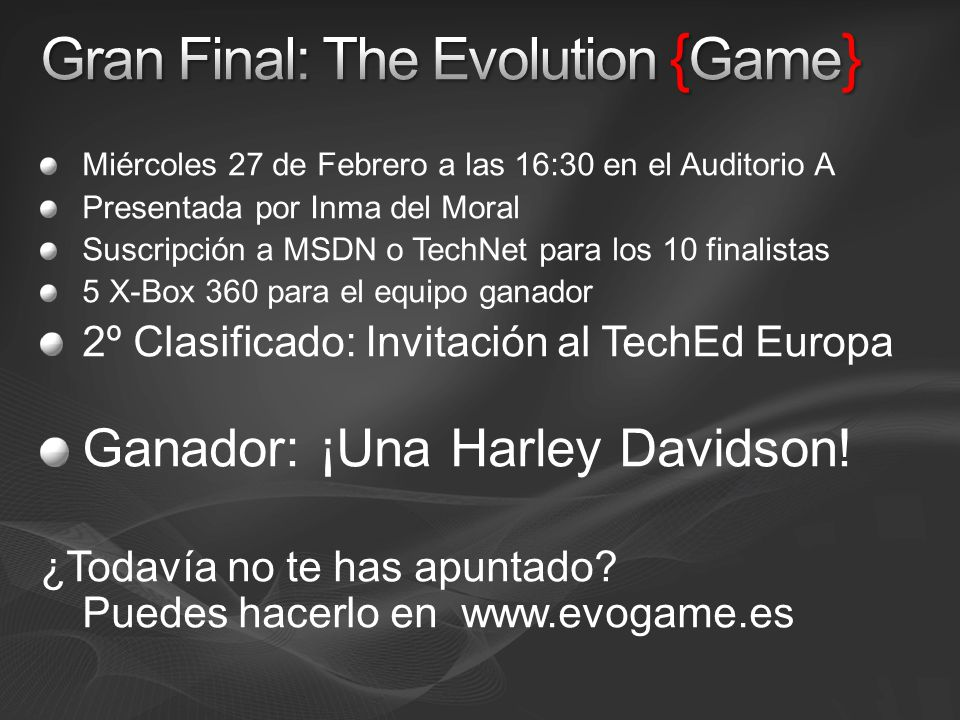 Gran Final: The Evolution {Game}