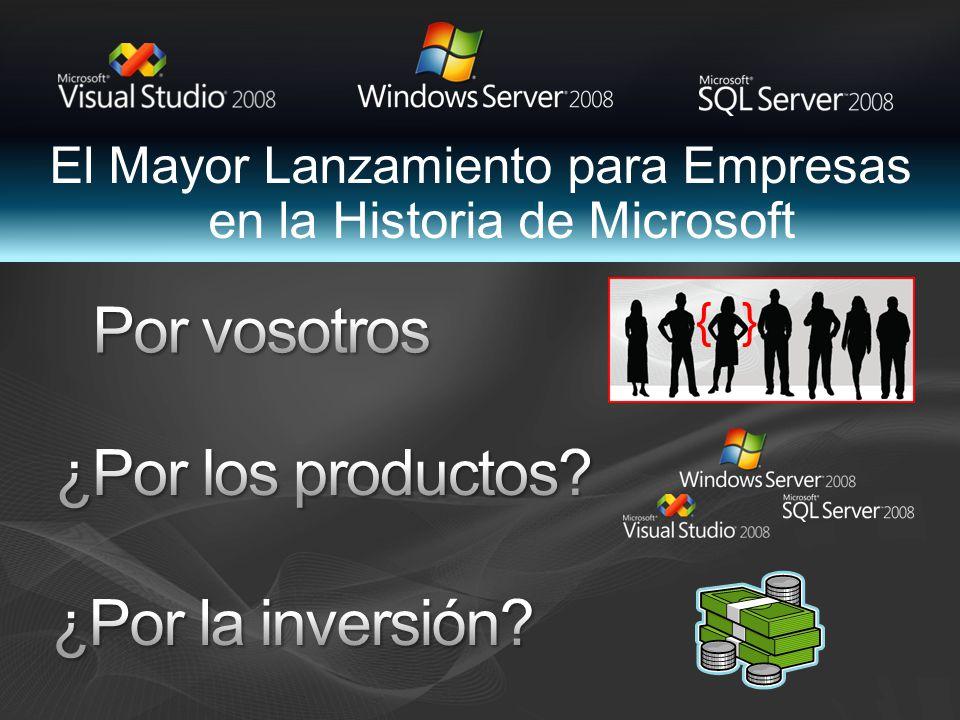 El Mayor Lanzamiento para Empresas en la Historia de Microsoft