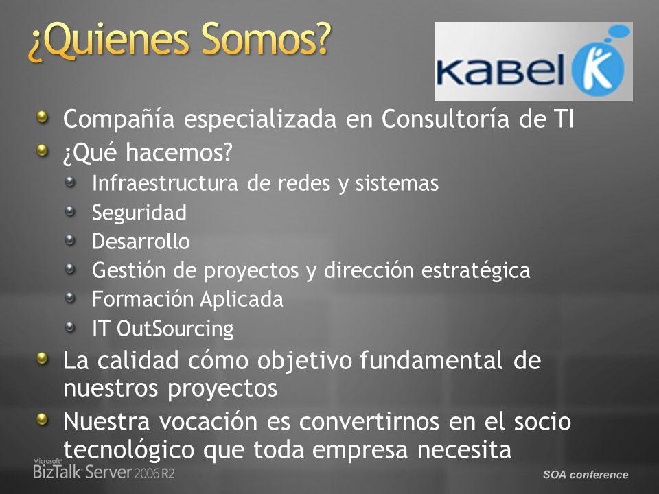 ¿Quienes Somos Compañía especializada en Consultoría de TI