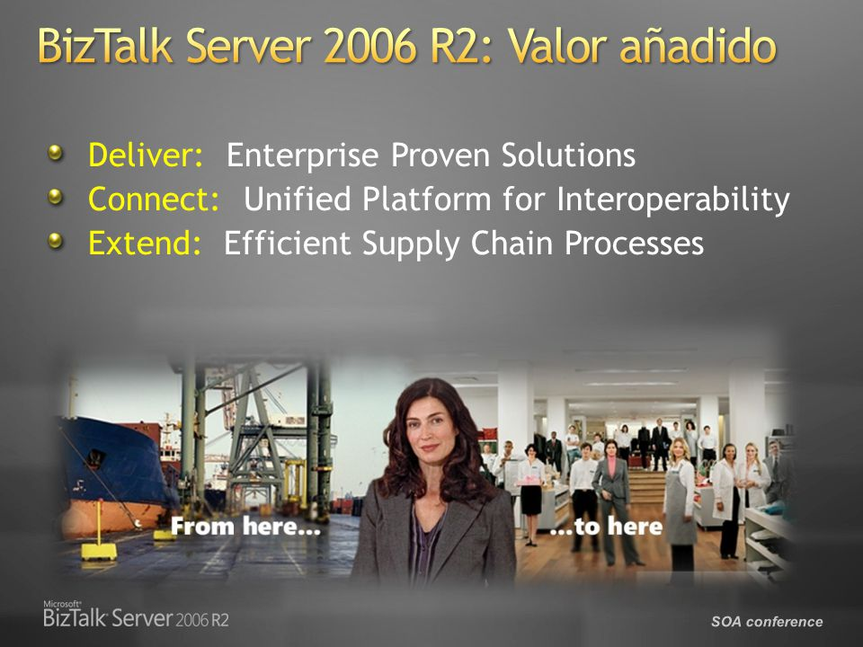 BizTalk Server 2006 R2: Valor añadido