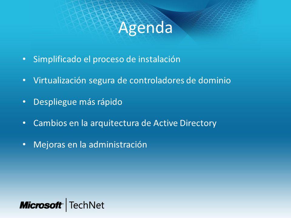 Agenda Simplificado el proceso de instalación