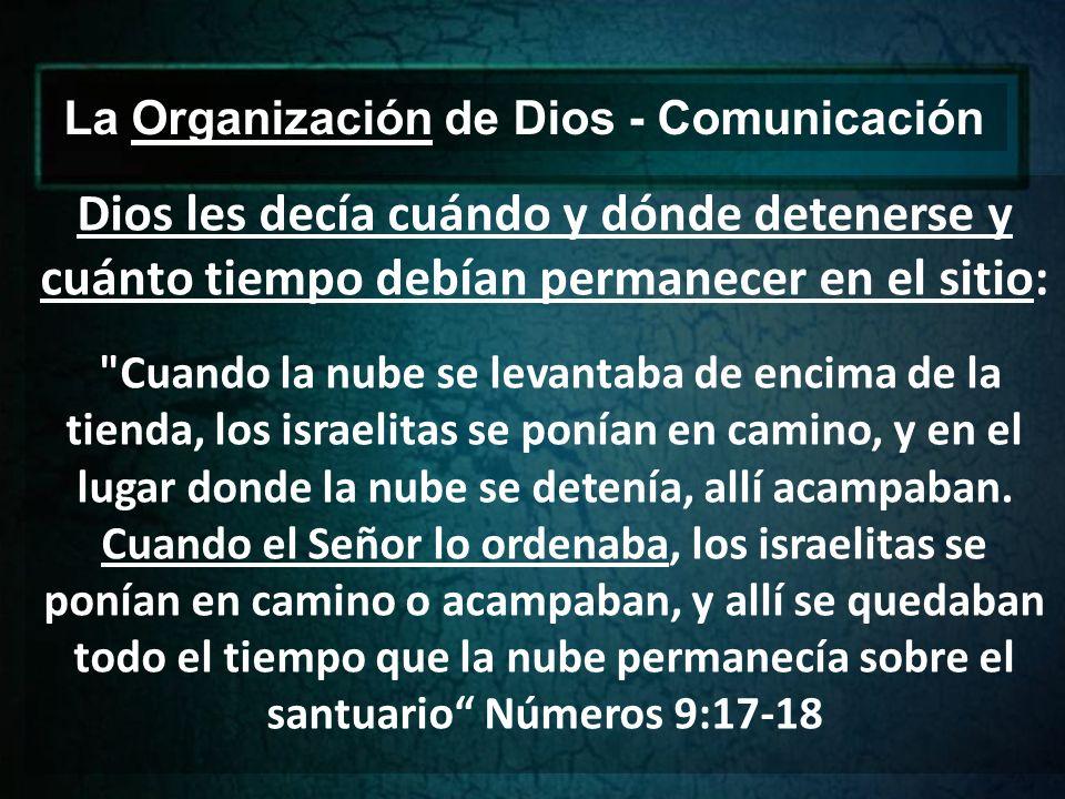La Organización de Dios - Comunicación