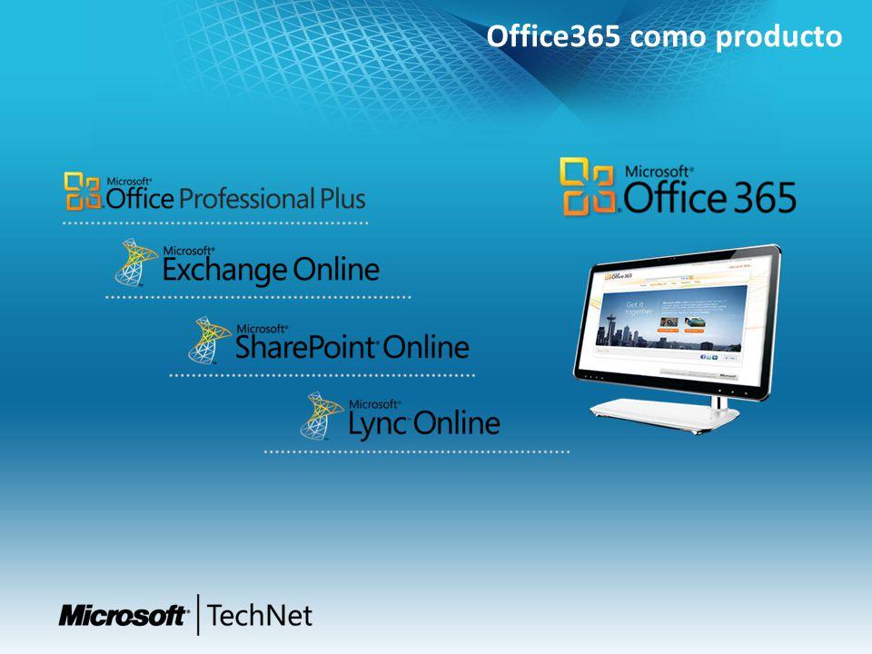 Office365 como producto