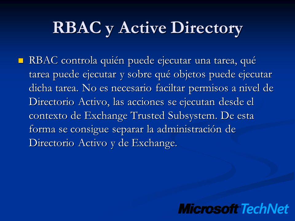 RBAC y Active Directory