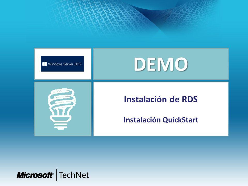 Instalación QuickStart
