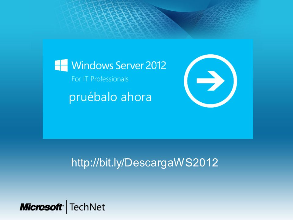 http://bit.ly/DescargaWS2012