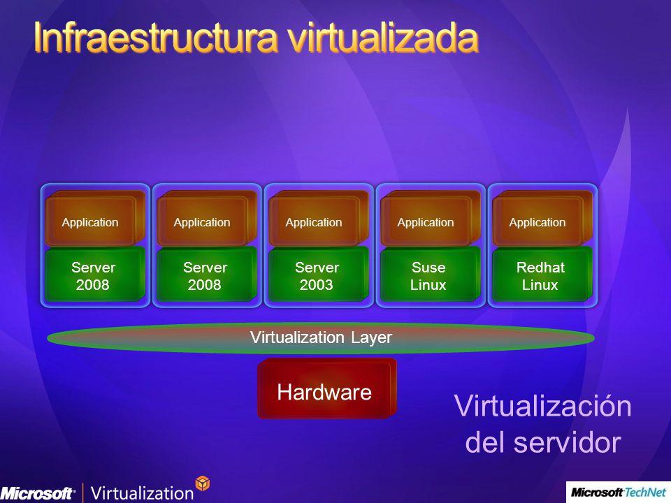 Virtualización del servidor