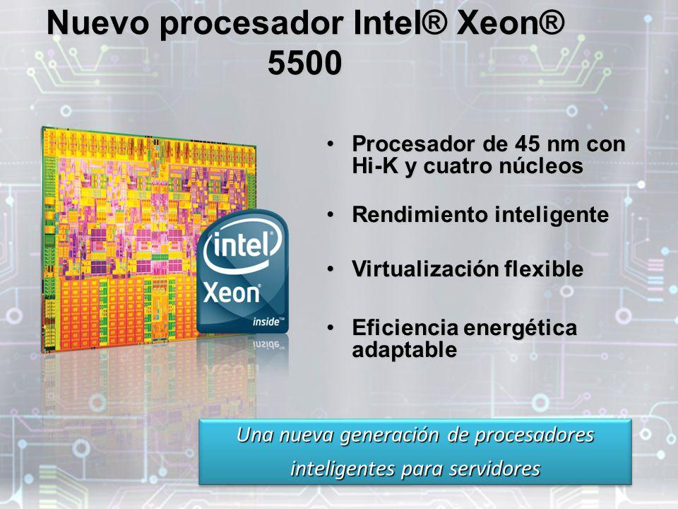 Nuevo procesador Intel® Xeon® 5500