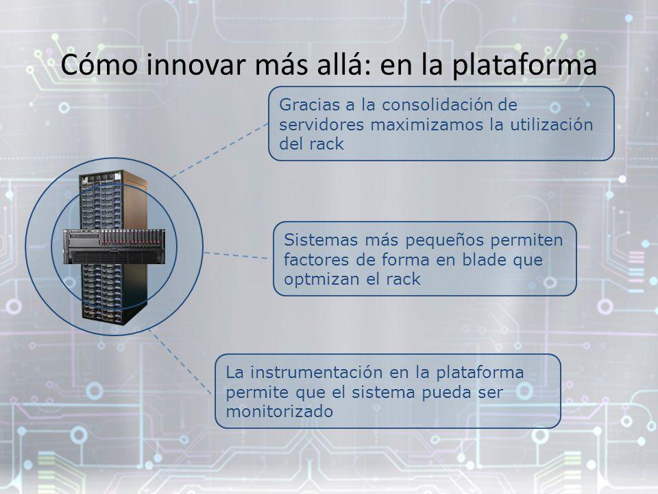 Cómo innovar más allá: en la plataforma