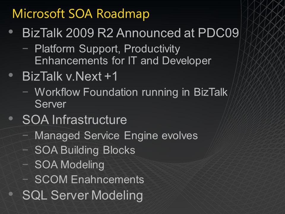 BizTalk 2009 R2 Announced at PDC09