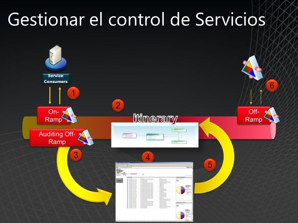 Gestionar el control de Servicios