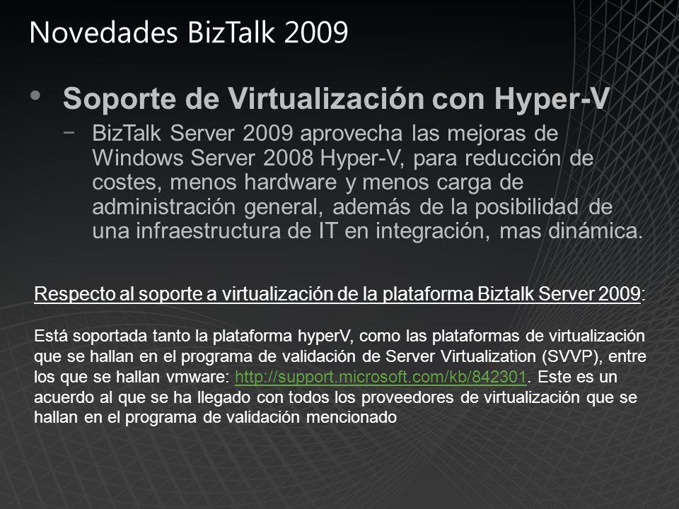 Soporte de Virtualización con Hyper-V